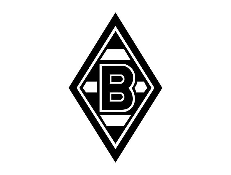德甲门兴格拉德巴赫队徽标志矢量图