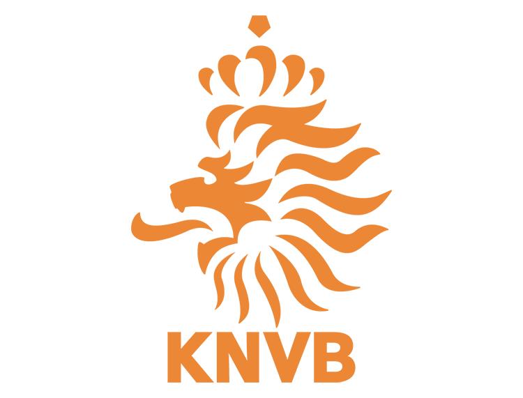 荷兰国家足球队队徽标志矢量图