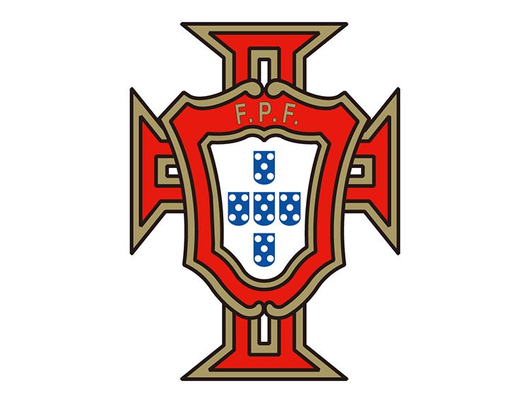 葡萄牙国家足球队队徽标志矢量图