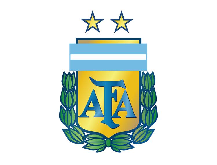 阿根廷国家足球队队徽标志矢量图