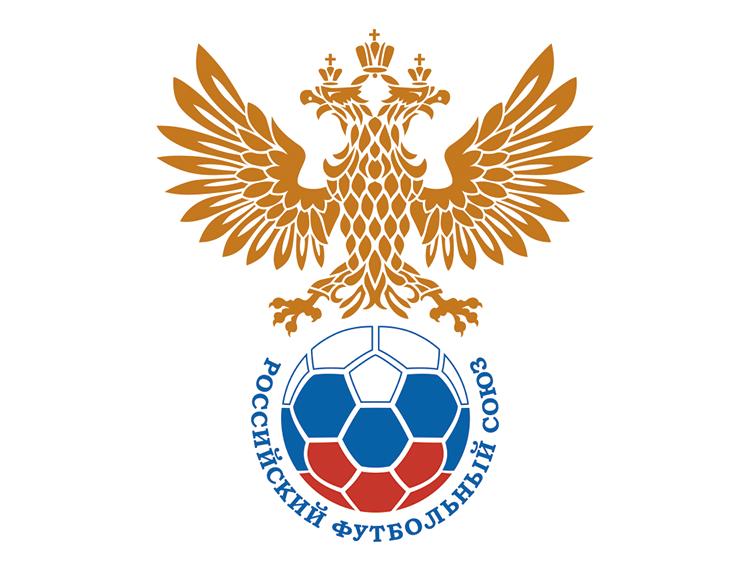 俄罗斯国家足球队队徽标志矢量图