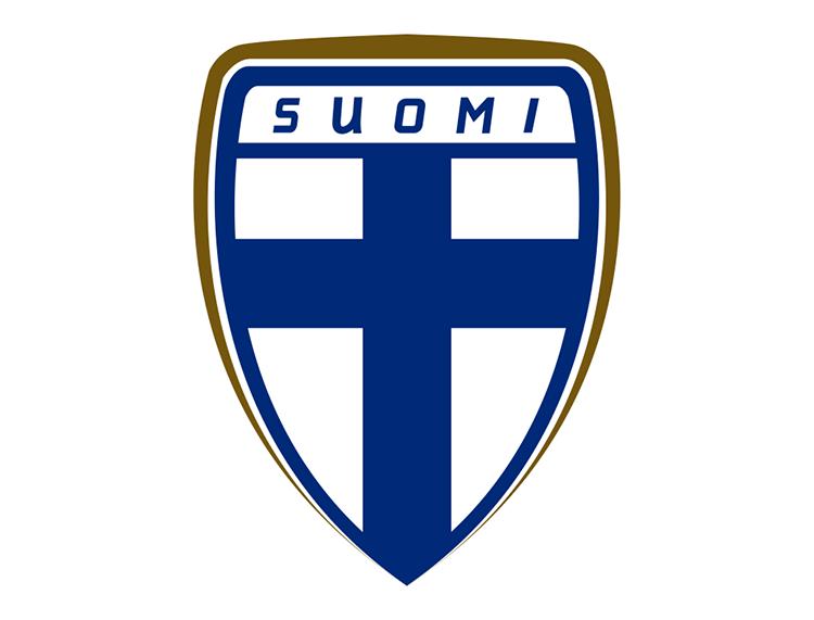 芬兰国家足球队队徽标志矢量图