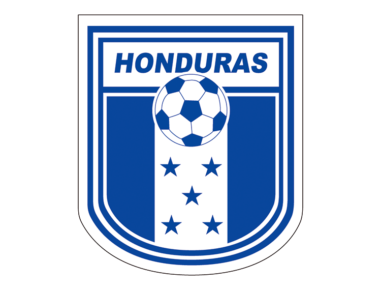 洪都拉斯国家足球队队徽标志矢量图