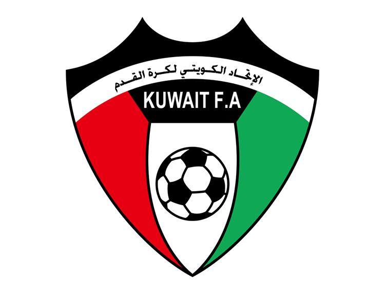 科威特国家足球队队徽标志矢量图