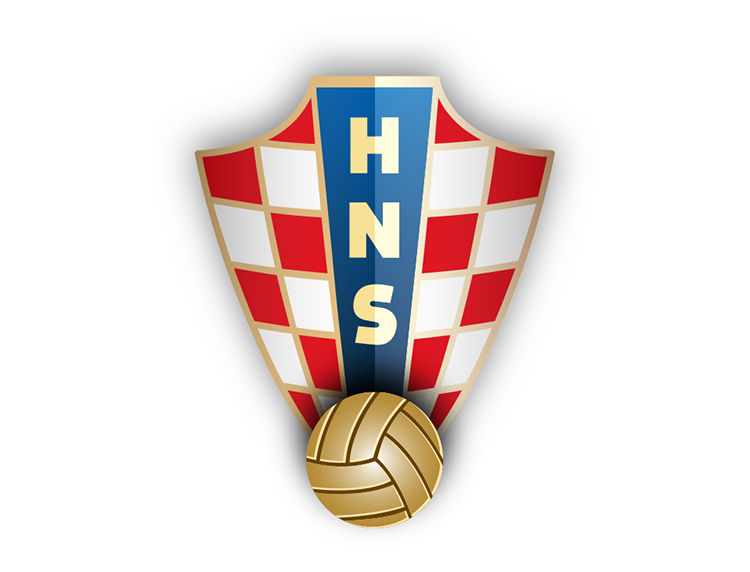克罗地亚 国家足球队 队徽 标志 矢量图 设计之家-国家足球队标志大全