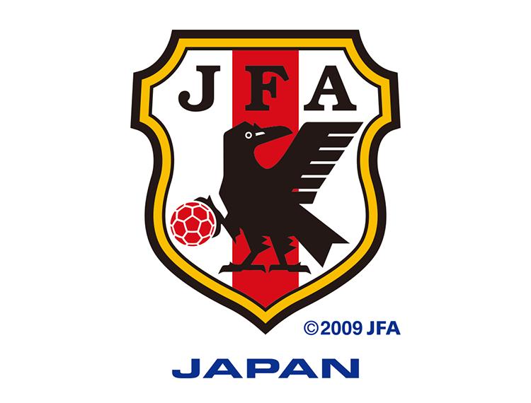 日本国家足球队队徽标志矢量图