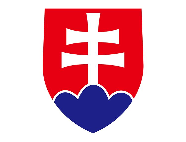 斯洛伐克国家足球队队徽标志矢量图