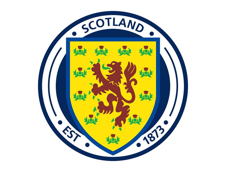 苏格兰国家足球队队徽标志矢量图