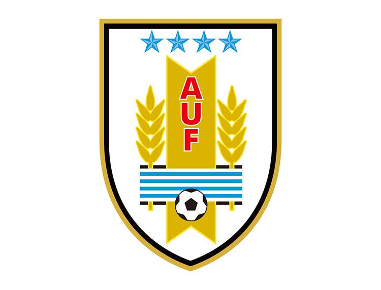 乌拉圭国家足球队队徽标志矢量图