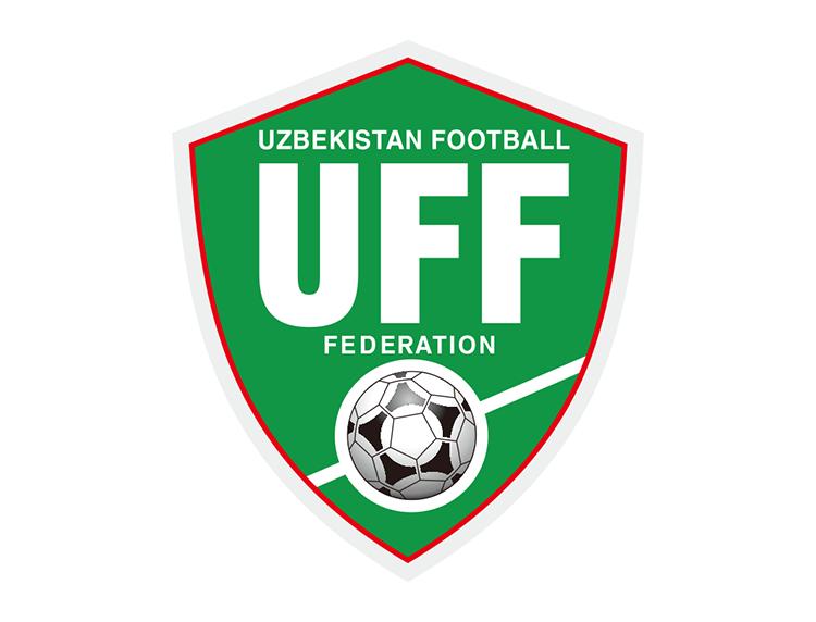 乌兹别克斯坦国家足球队队徽标志矢量图