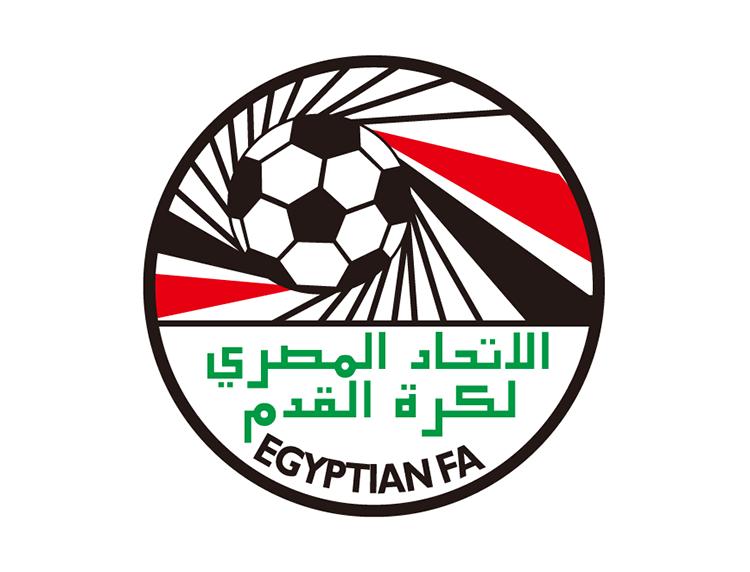 埃及国家足球队队徽标志矢量图