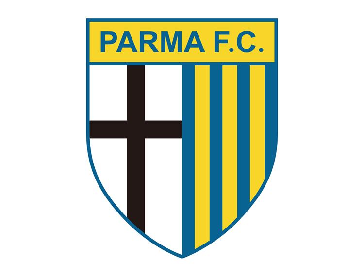 意甲帕尔马队徽标志矢量图 - 设计之家