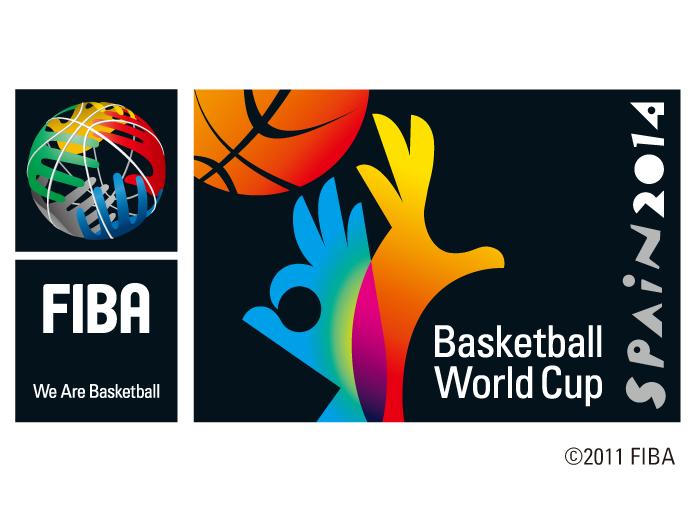 2014篮球世界杯logo标志矢量图
