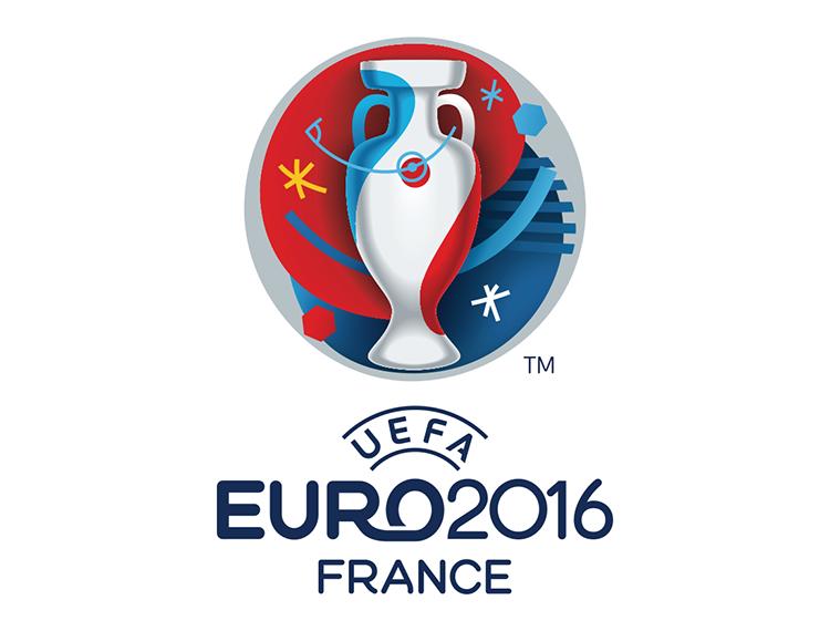 2016欧锦赛(欧洲杯)会徽logo矢量图图片