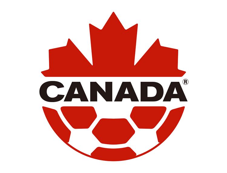 加拿大国家足球队队徽标志矢量图