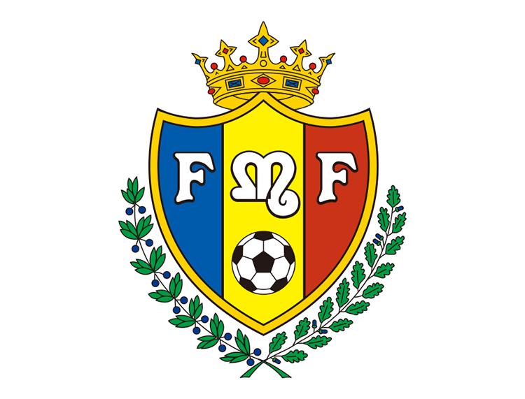 摩尔多瓦国家足球队队徽标志矢量图