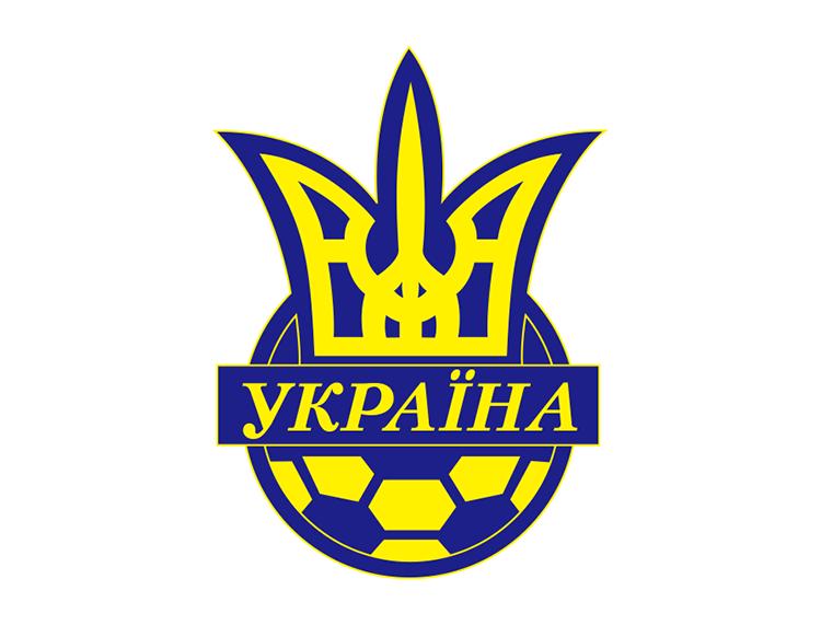 乌克兰国家足球队队徽标志矢量图