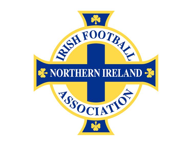 北爱尔兰足球队队徽标志矢量图