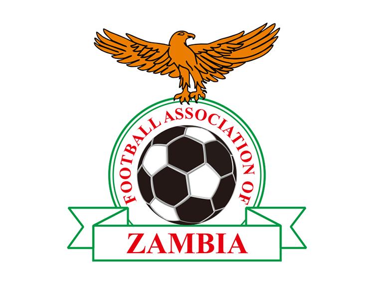 赞比亚国家足球队队徽标志矢量图