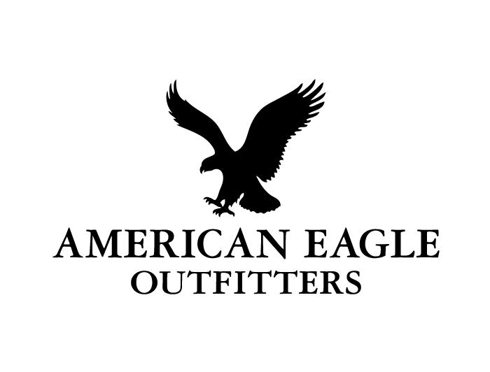 服装品牌美国鹰(american eagle)标志矢量图
