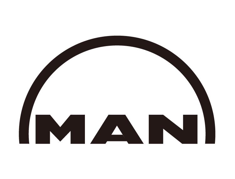 印刷机品牌:man02roland曼罗兰标志矢量图