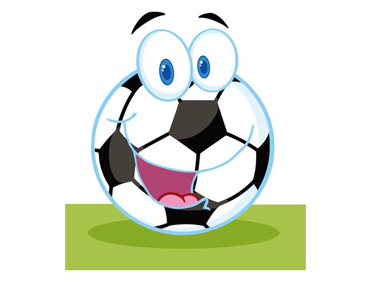 卡通足球_