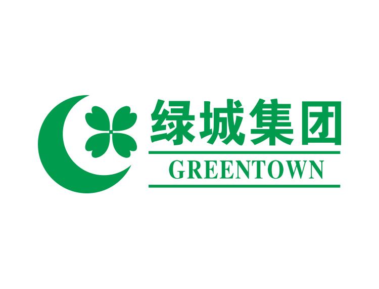 绿城集团logo标志矢量图