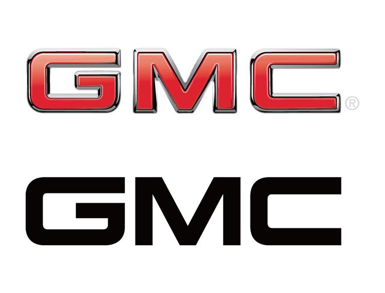 GMC汽车标志矢量图高清图片