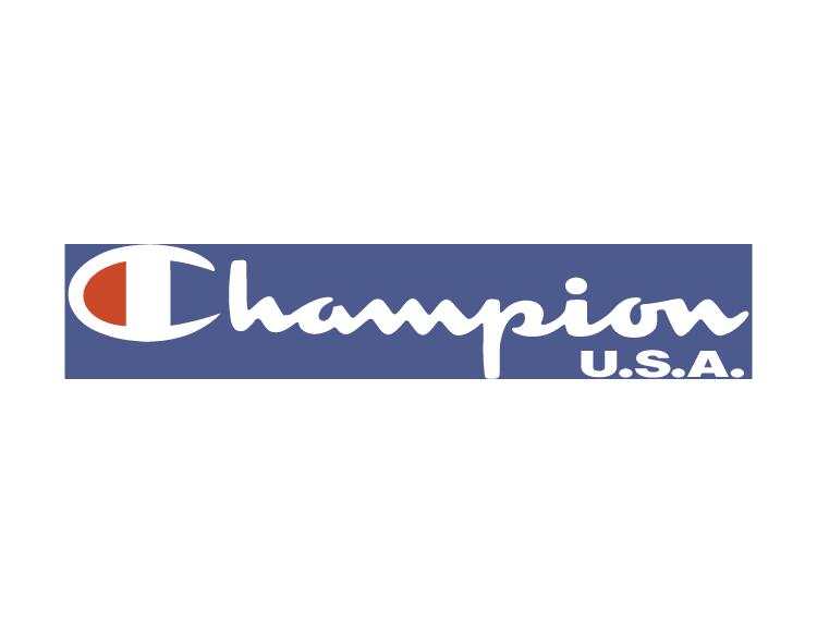 意大利服装品牌logo_著名运动品牌CHAMPION(冠军)矢量标志 - 设计之家