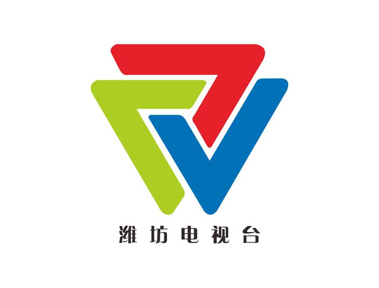 潍坊电视台台标logo矢量图