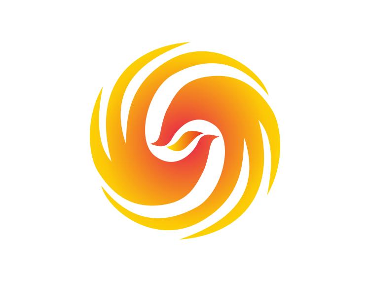 凤凰卫视台标logo矢量图 - 设计之家
