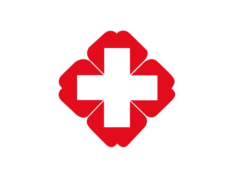 红十字标志矢量图