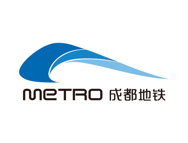成都地铁logo标志矢量图