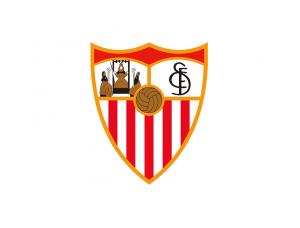 西甲塞维利亚队徽标志矢量图