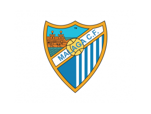 西甲马拉加队徽标志矢量图