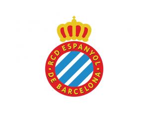 西甲西班牙人队徽标志矢量图