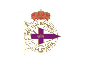 拉科鲁尼亚队徽标志矢量图