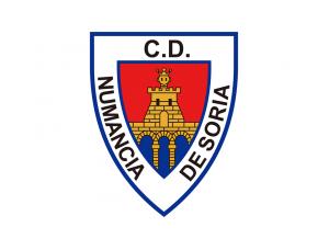 努曼西亚队徽标志矢量图