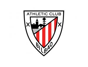 西甲毕尔巴鄂竞技队徽标志矢量图
