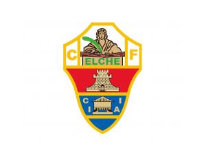 西甲埃尔切队徽标志矢量图