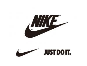 著名运动品牌耐克Nike标志矢量图