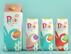國外創意果汁包裝設計
