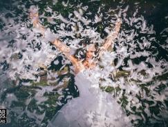 国外创意获奖婚纱摄影作品