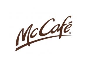 麦当劳McCafé标志矢量图