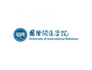 大学校徽系列:国际关系学院标志矢量图