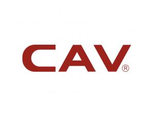 CAV丽声音响标志矢量图