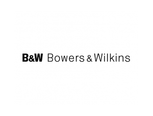 B&W Bowers & Wilkins音響標志矢量圖
