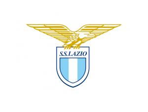 意甲拉齐奥队徽标志矢量图