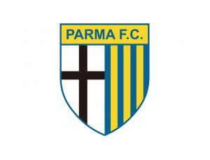 意甲帕尔马队徽标志矢量图