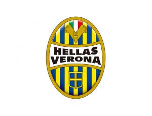 意甲维罗纳队徽标志矢量图